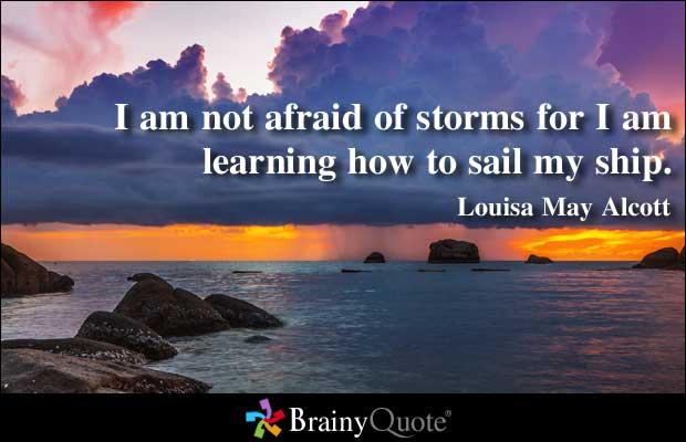 Afraid quote #7