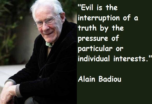 Alain Badiou's quote #2