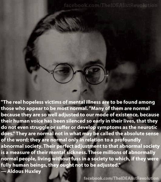 Aldous Huxley zitate englisch