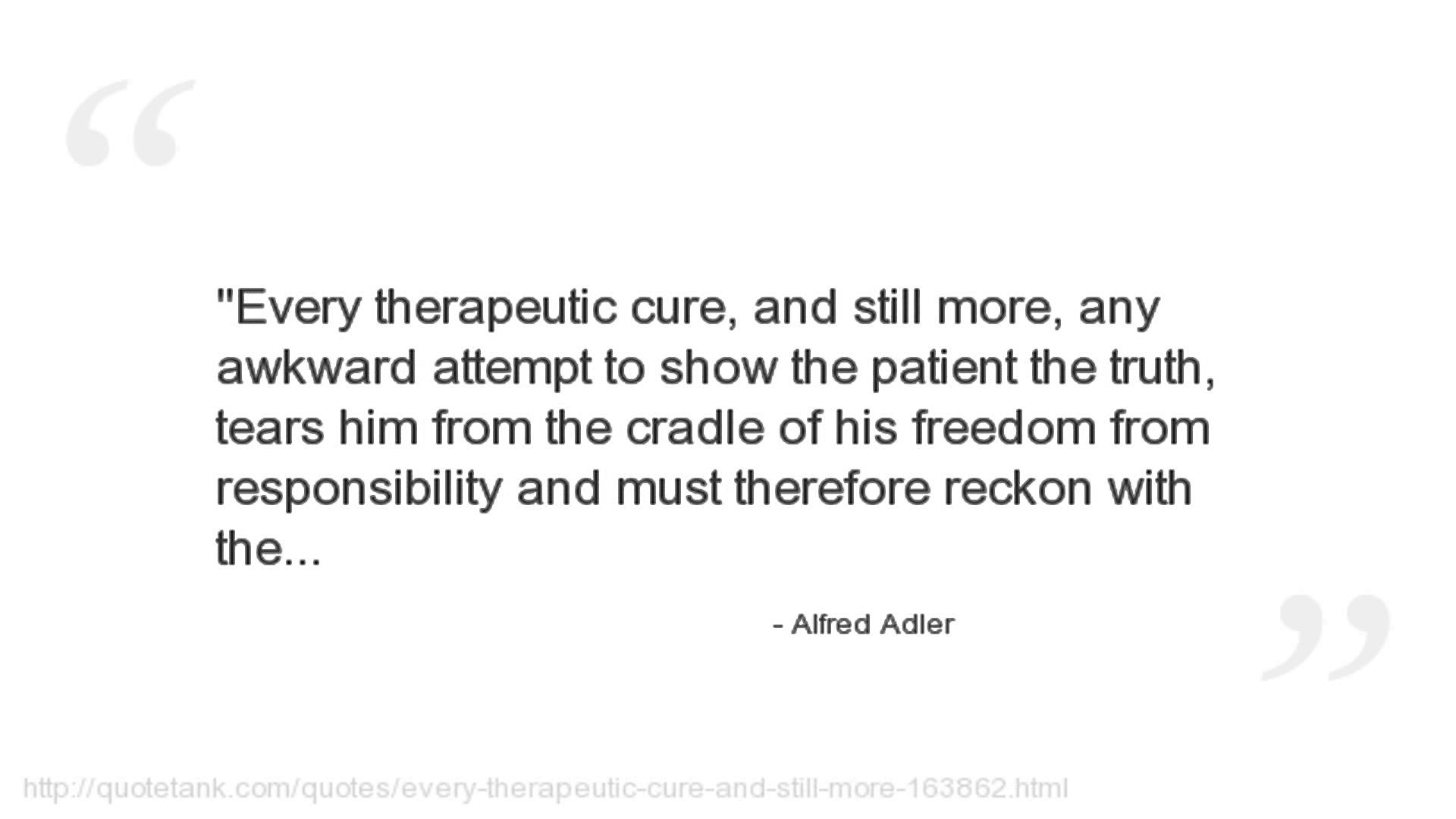 Alfred Adler's quote #6