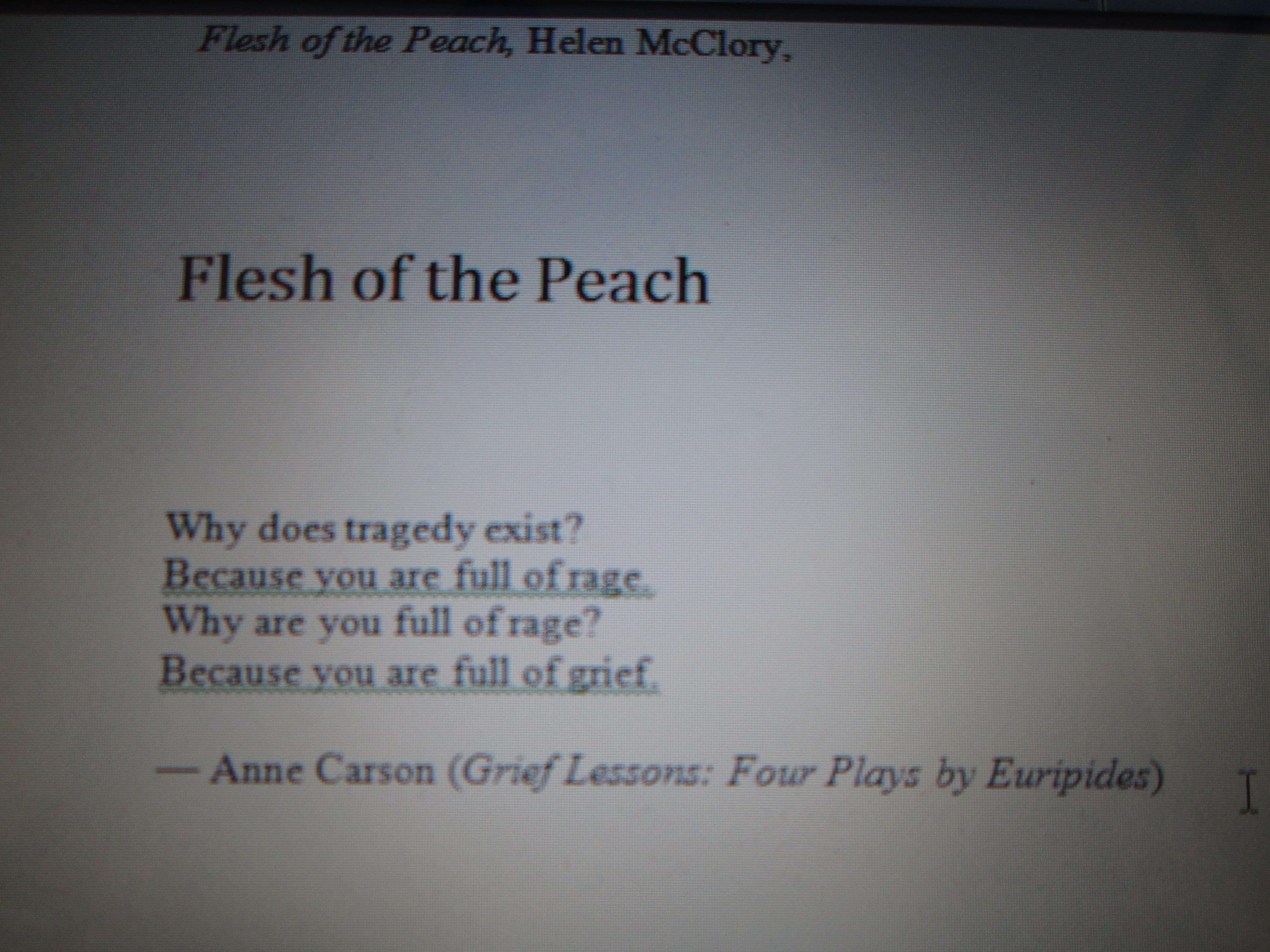 Anne Carson famous poems