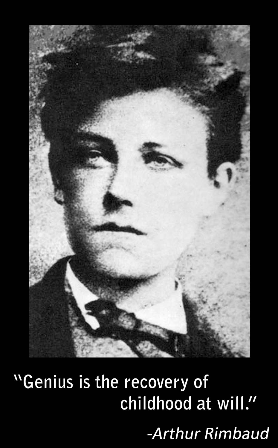 a biography of french poet arthur rimbaud The many faces of rimbaud in graham robb's biography  life and atrocious  death of jean nicolas arthur rimbaud will never reach conclusion  he then  goes on to list the poet's multiple incarnations, his avatars, his devotees,  with  rimbaud, to annex great swathes of 19th-century french literature.