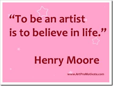 Artist quote #1