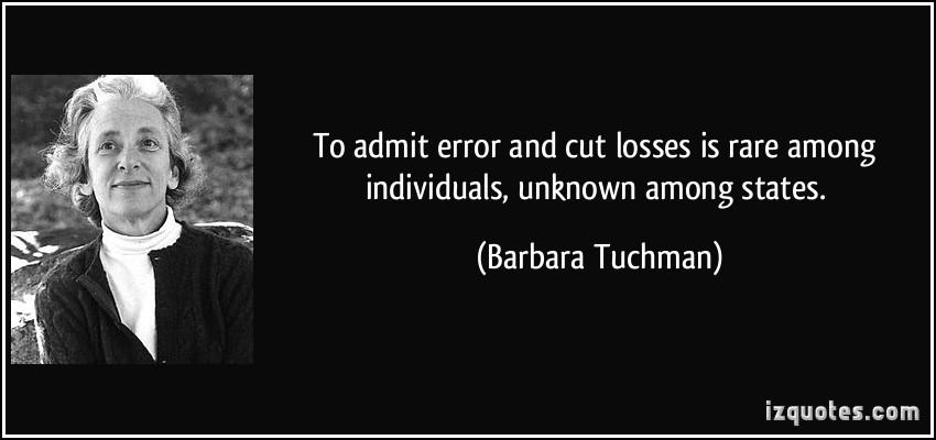 barbara tuchman quotation The book starts with a curious front-piece quotation by edward gibbon from barbara tuchman's classic a  (which tuchman further applied to fourteenth century.