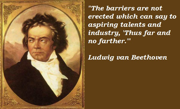 Beethoven quotes