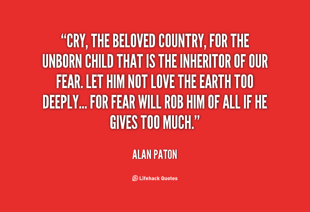 Essay My Parents  Fear In Cry The Beloved Country Essay Discussion Of Fear In Cry The  Beloved Countrycry  Essay On Poverty also Name Essay Examples Fear In Cry The Beloved Country Essay Homework Academic Service Essay India