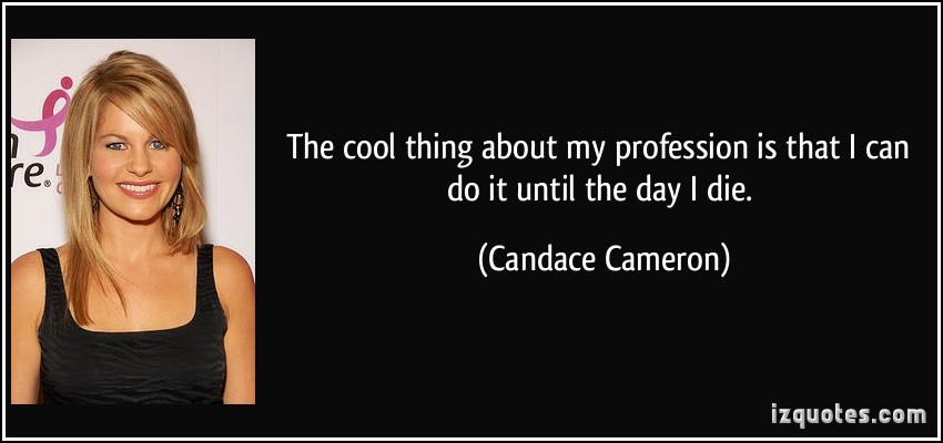 Candace Cameron's quote #2