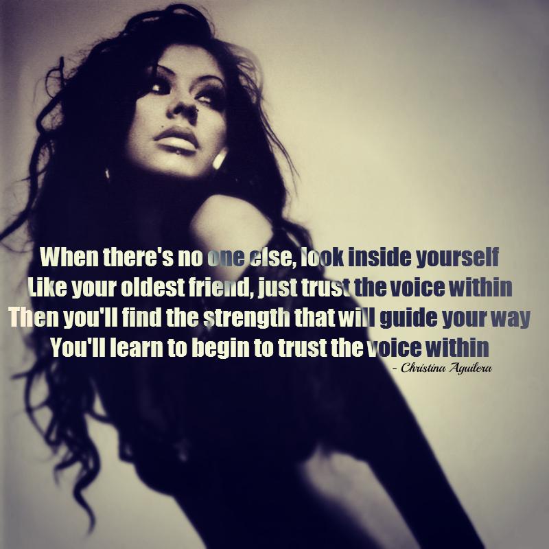 Christina Aguilera's quote #6