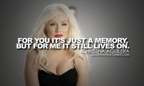 Christina Aguilera's quote #3
