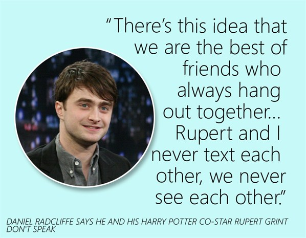 Daniel Radcliffe Image Quotation #6 - QuotationOf . COM