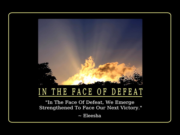 Famous Quotes About 'Defeat'