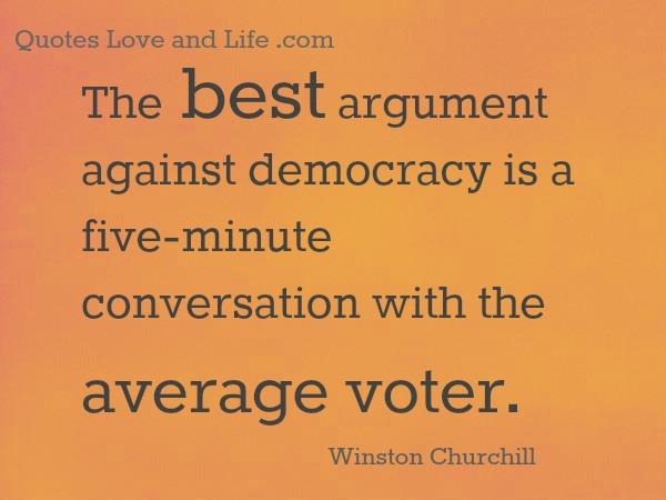 Democracy quote #2