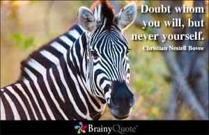 Doubt quote #4