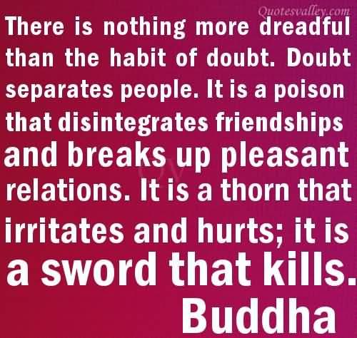 Doubt quote #5