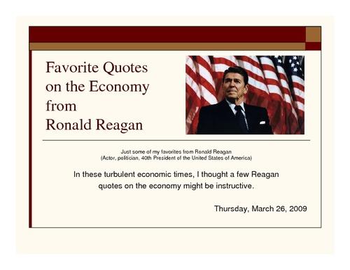 Economic quote #2
