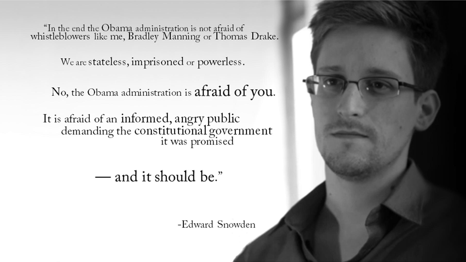 Edward Snowden Three Years On The Jeffersonian