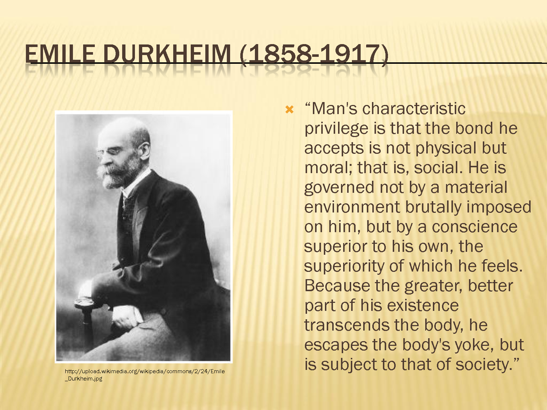 comte durkheim and marx essay