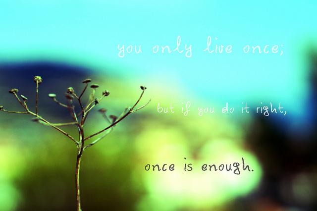 Enough quote #1