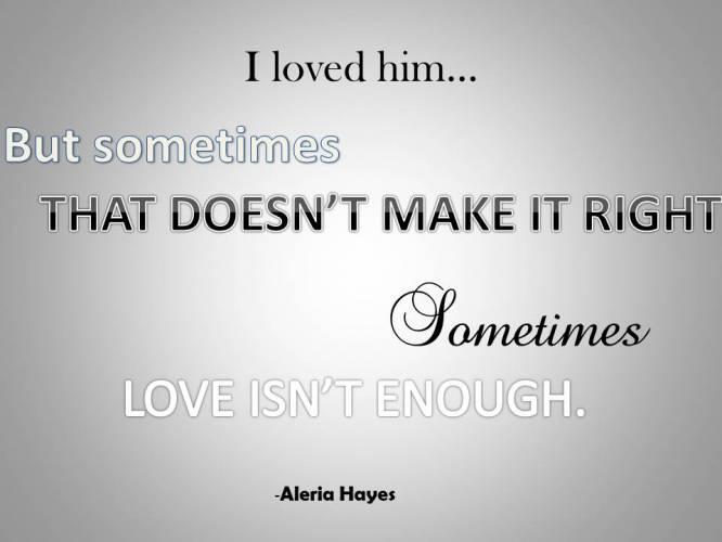 Enough quote #3