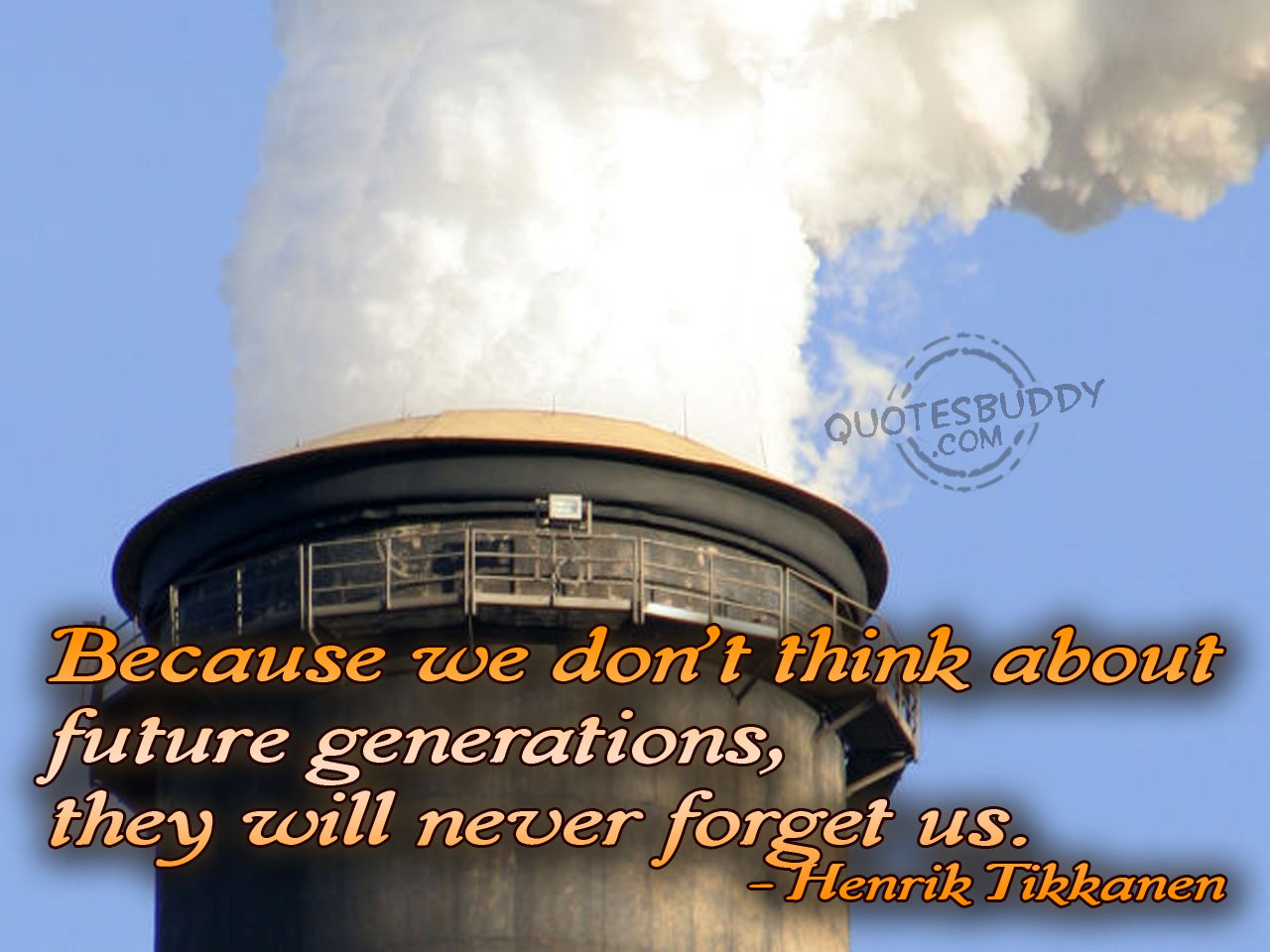Environmental quote #4