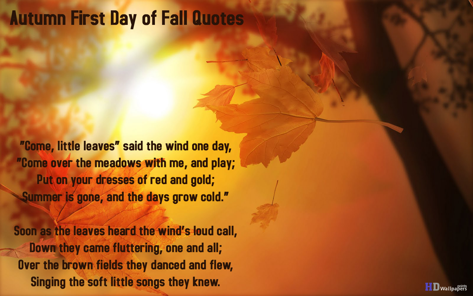 Fall Quotes: Famous Quotes About 'Fall'