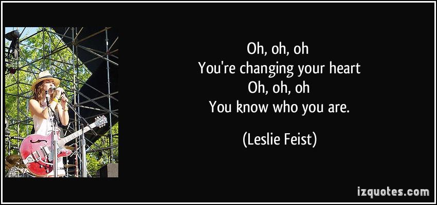 Feist's quote