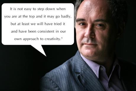 Ferran Adria's quote #4
