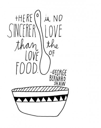 Food quote #4