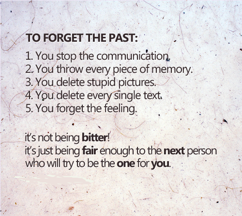 Forget The Past Quotes: Famous Quotes About 'Forget The Past'