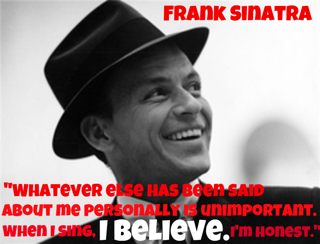 Famous Quotes About 'Frank Sinatra'