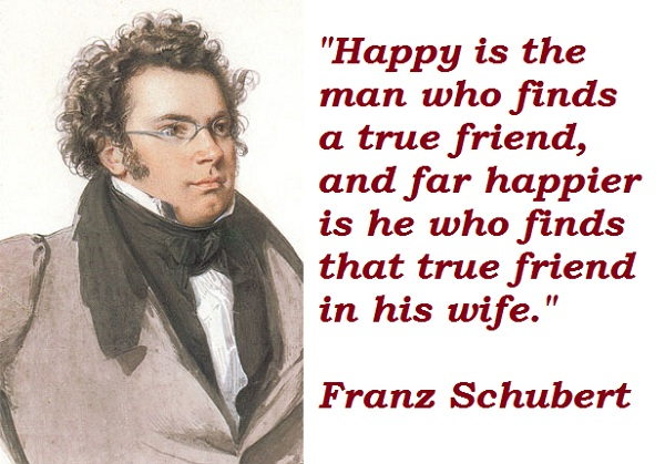 the biography of the austrian composer franz peter schubert Franz peter schubert was an austrian composer despite dying at age thirty-one, schubert was extremely prolific his output consists of over six hundred secular vocal works, seven complete symphonies, sacred music, operas, incidental music and a large body of chamber and piano music.