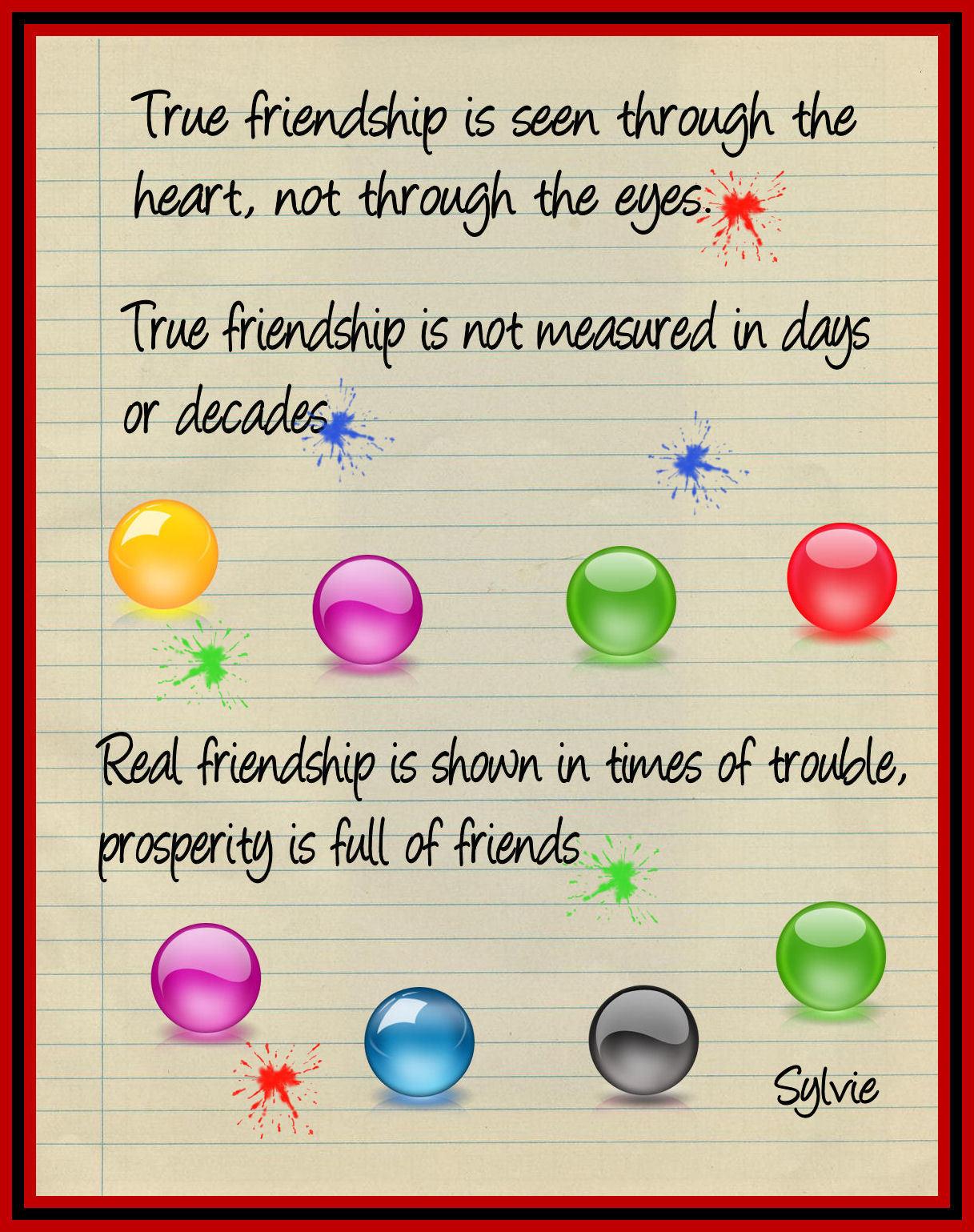 Friend quote #1