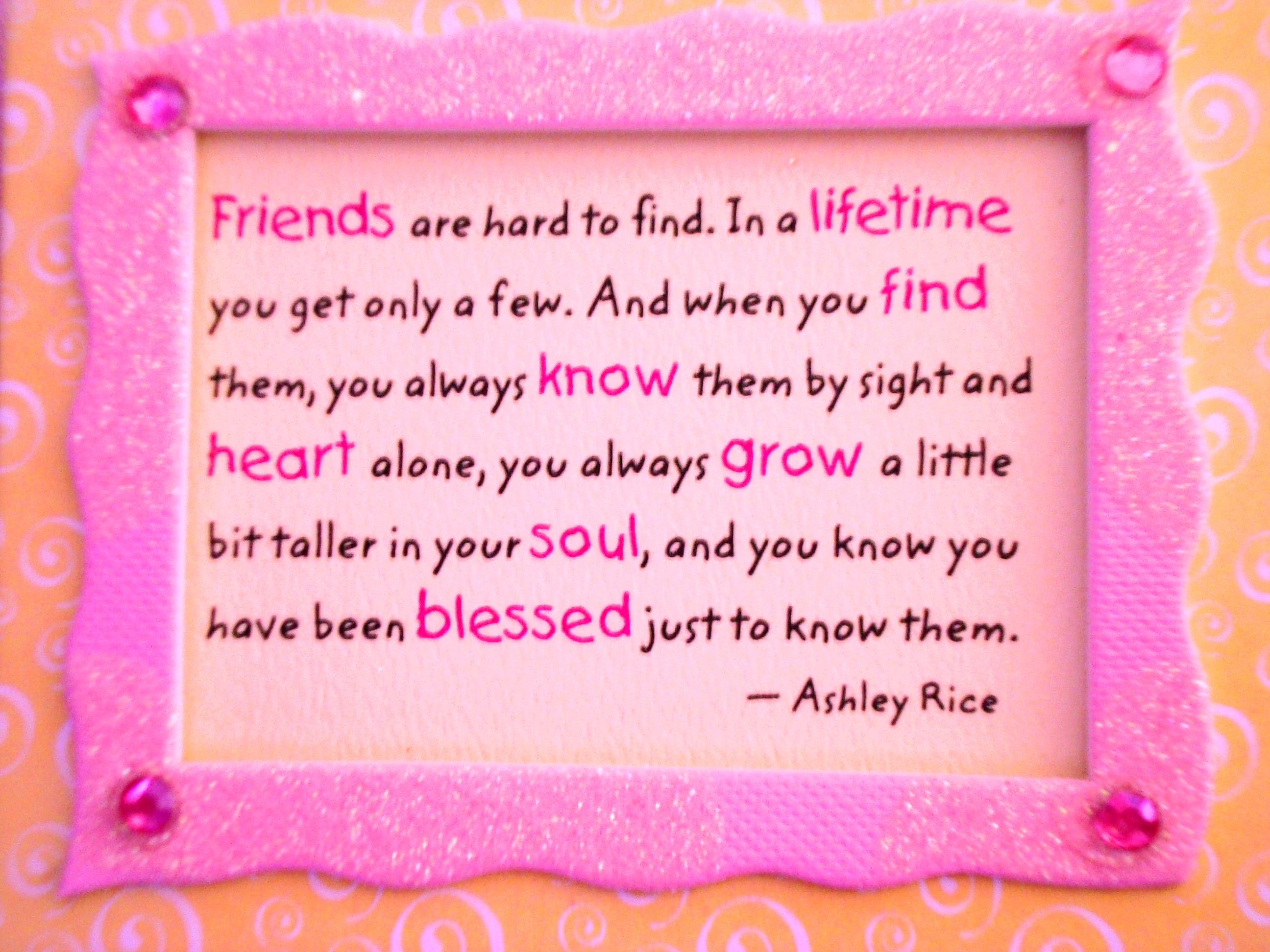 Friend quote #2