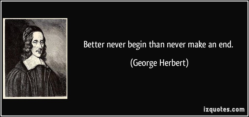George Herbert quotations by the poet