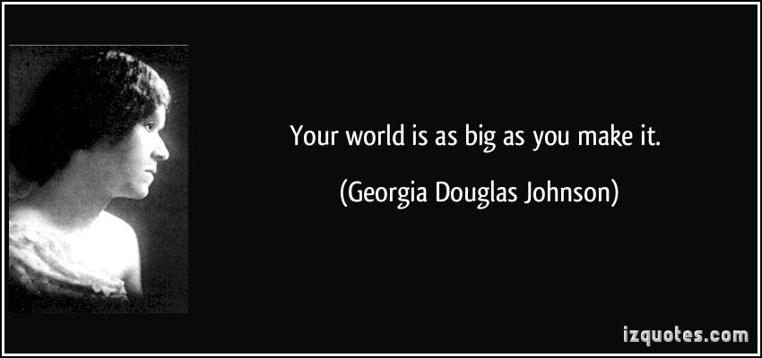 Your World by Georgia Douglas Johnson   Poetry Foundation