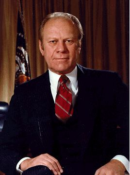 a biography of gerald ford The latest tweets from biographycom (@biography) capturing the most gripping, surprising,  gerald ford as a young naval officer,.