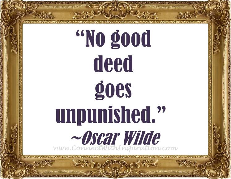 Famous Quotes About 'Good Deeds'