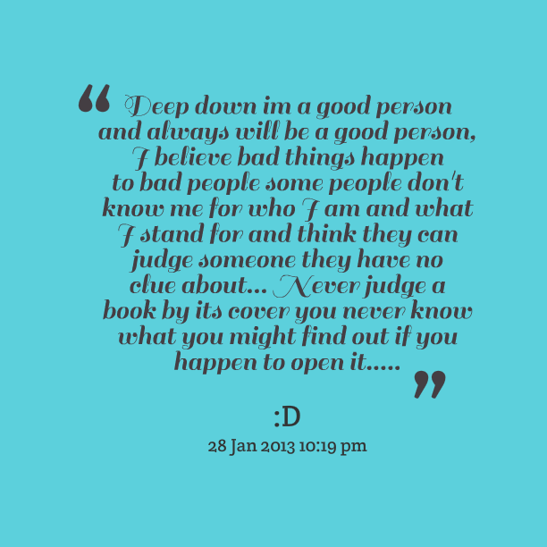 Good People Quotes: Famous Quotes About 'Good People'