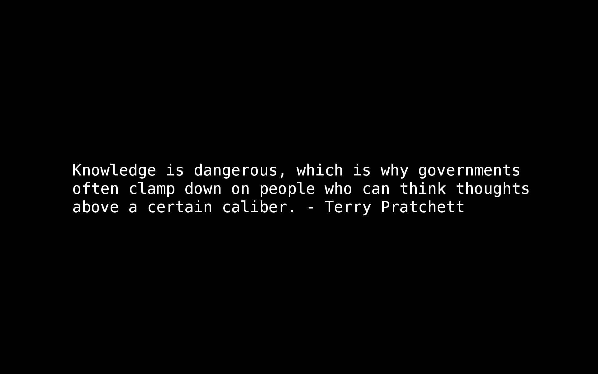 Government quote #1