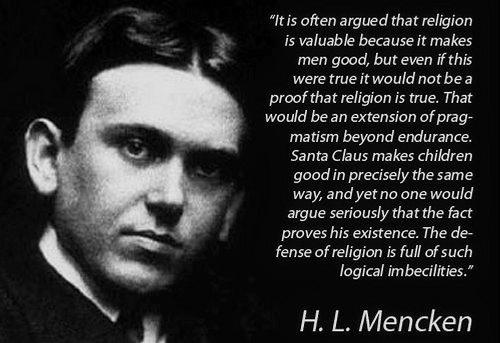 H. L. Mencken's quote