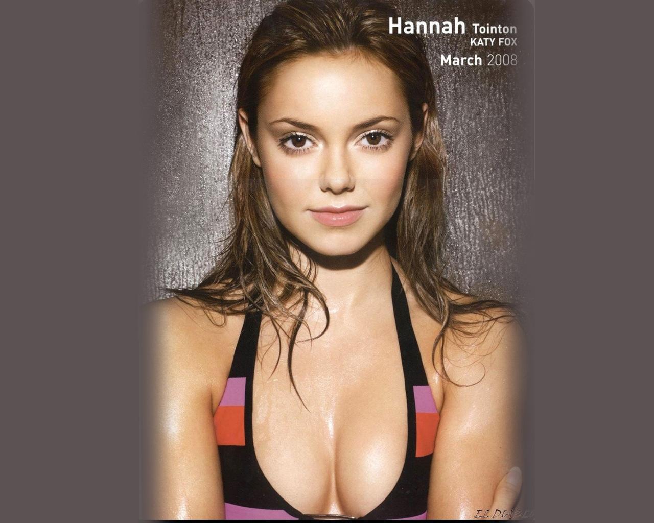 Hannah tointon hot