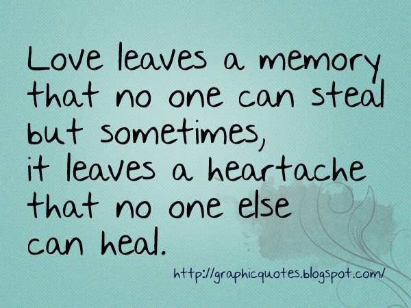 quotes about heartache