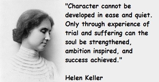 Helen Keller's quote