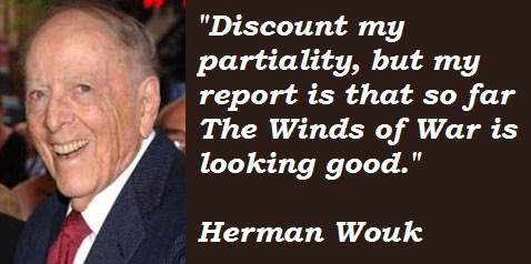 Herman Wouk's quote