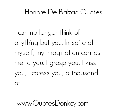Honore de Balzac's quote #1