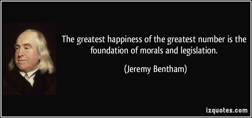 Image result for jeremy bentham quote pic