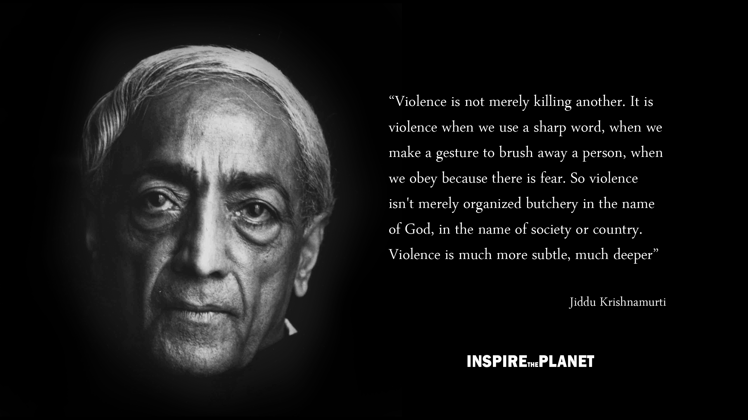 jiddu krishnamurti Jiddu krishnamurti: jiddu krishnamurti, indian spiritual leader he was educated in theosophy by the british social reformer annie besant, who proclaimed him the coming world teacher, a messianic figure who would bring about world enlightenment he became a teacher and writer, and from the.