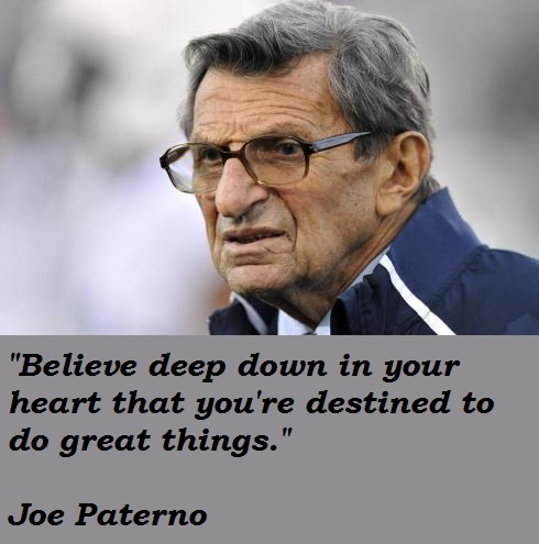 Joe Paterno Is Pictures To Pin On Pinterest Tattooskid