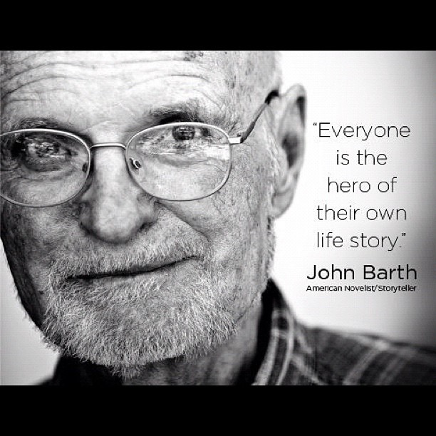 click john barth John simmons barth (/ b ɑːr θ / born may 27, 1930) is an american writer, best known for his postmodernist and metafictional fiction.