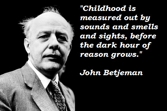 John Betjeman quotations